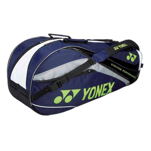 1bb14d041e ECJOY!】 ヨネックス (YONEX) BAG1112R ラケットバッグ6 (リュック付き ...
