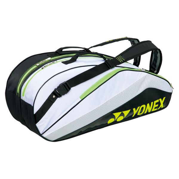 e978a153f7 ECJOY!】 YONEX (BAG1432R/141)ヨネックス ラケットバッグ6(リュックツキ) カラー:ホワイト/ブラック