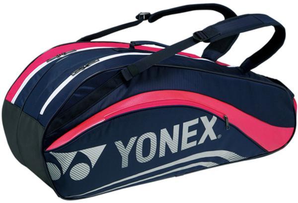 13a2e41044 ECJOY!】 YONEX (BAG1612R/675)ヨネックス ラケットバッグ6(リュックツキ) カラー:ネイビー/ピンク