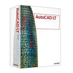 EC-JOY】 AUTODESK AutoCAD LT 2008 Commercial New SLM [ Windows